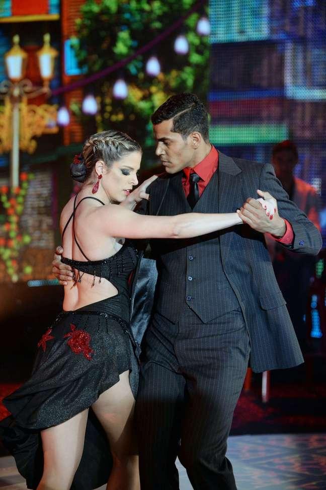 <p>Marcelo Mello Jr. foi o campeão de 2014 da competição de dança</p>
