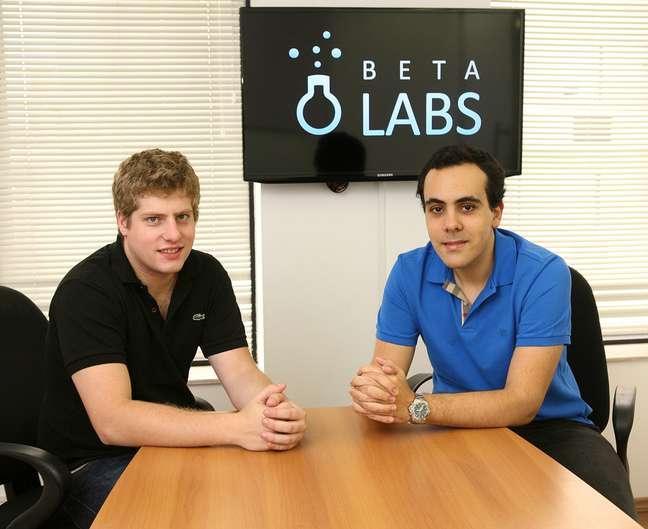 Colegas no curso de Administração da Fundação Getúlio Vargas, Luan Gabellini e Felipe Cataldi hoje são sócios da empresa de sistemas de gestão Betalabs