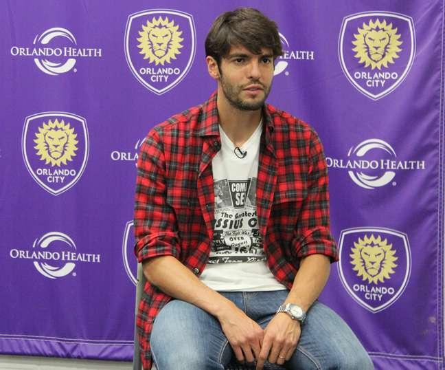 Kaká chegou no começo do ano para atuar no Orlando City e tem aprovado experiência