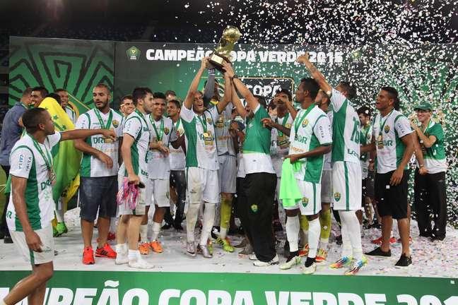 Cuiabá conseguiu reverter placar adverso de 4 a 1 na final da Copa Verde