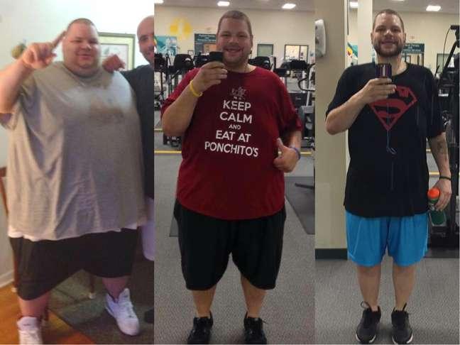 Ronnie emagreceu mais de 180kg em dois anos