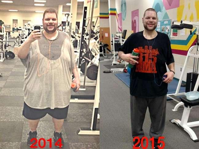 Jovem de 28 anos chegou a pesar mais de 300kg e não conseguia sair de casa devido ao peso