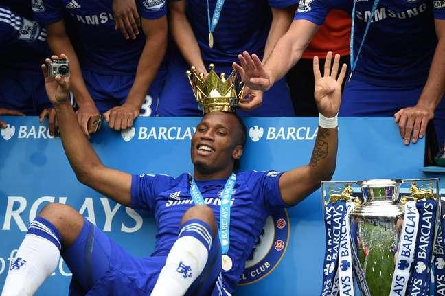 Drogba se despediu mais uma vez do Chelsea