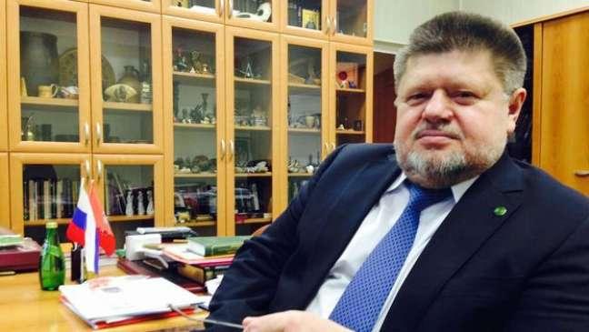 Evgeny Brun é o diretor do departamento de narcologia da Rússia