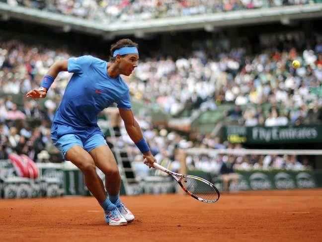 Rafael Nadal só perdeu uma partida na vida em Roland Garros