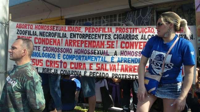 Marcha para Jesus tem cartazes por 'faxina ética'
