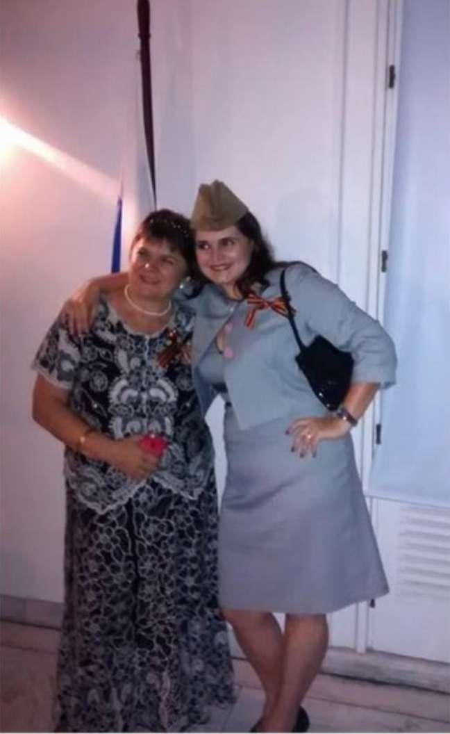 Irina e a mãe, Svetlana Ignatenko