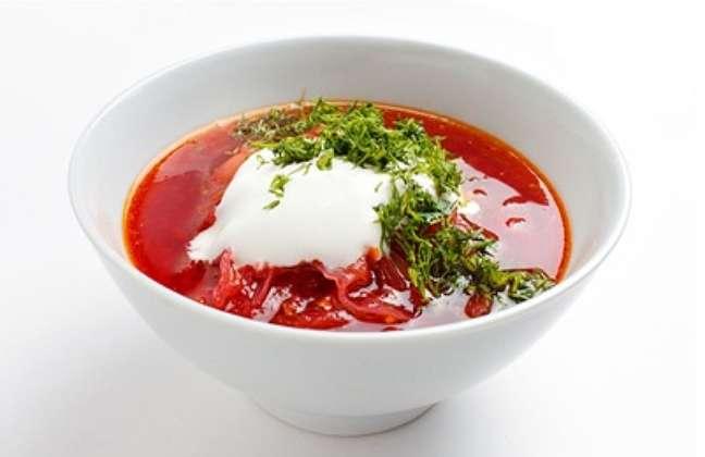 Borche, sopa tradicional russa