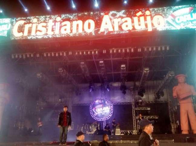Cristiano Araújo tinha show marcado em Caruaru na noite de quarta-feira