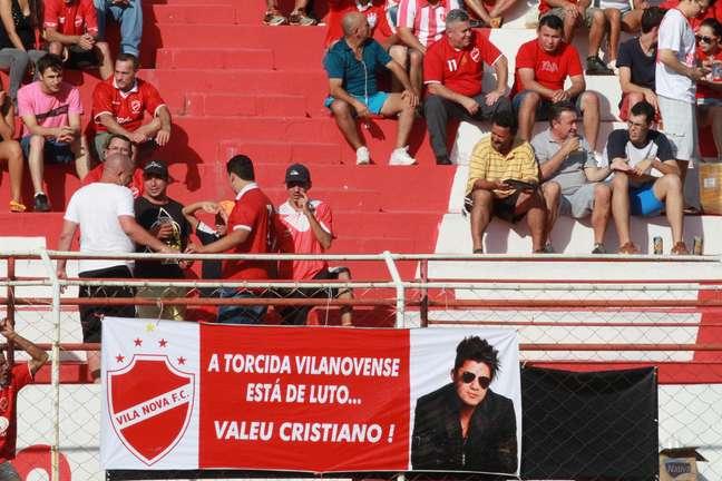 Cristiano Araújo era torcedor fanático do Vila Nova