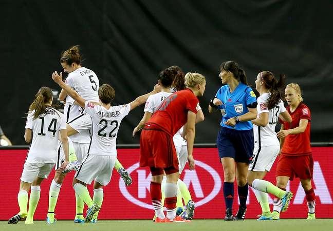Estados Unidos fizeram 2 a 0 na Alemanha nesta terça-feira