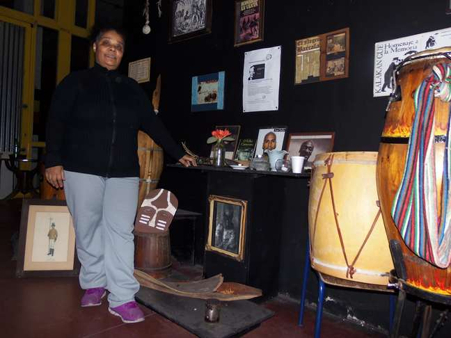 Sandra Chagas é líder do Movimiento Afrocultural, divulgador da cultura negra em Buenos Aires