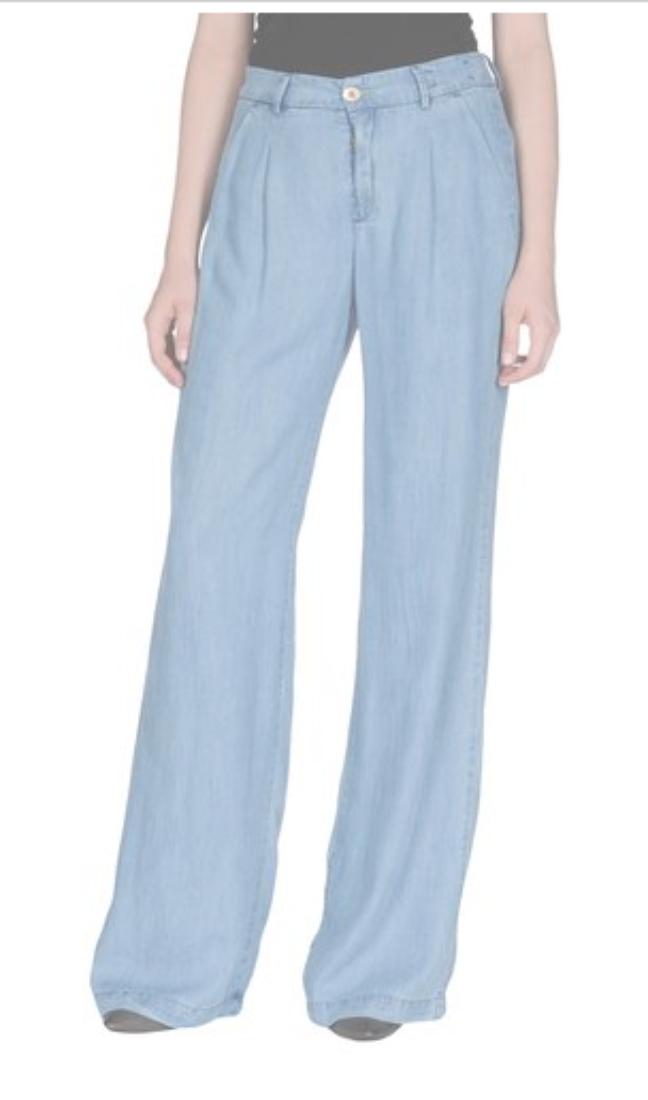 Calça clochard era moda nos anos 90