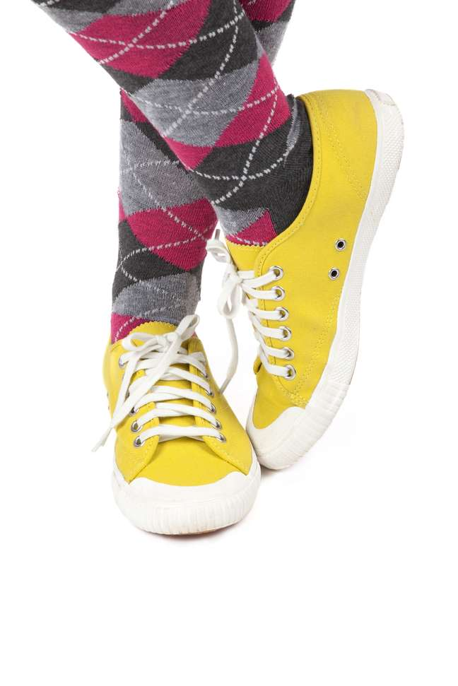 Usar tênis com meias era rotina nos anos 90