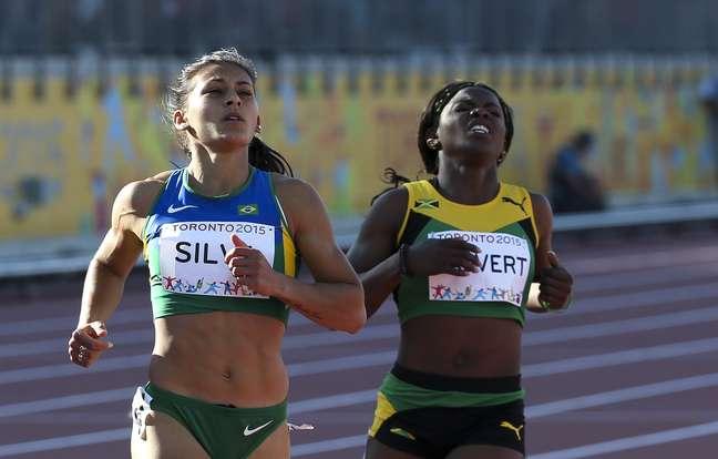 Ana Cláudia Lemos foi a sétima colocada nos 100 m dos Jogos Pan-Americanos de Toronto