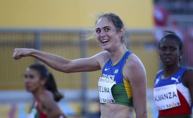 Flavia de Lima é bronze nos 800 no Pan de Toronto