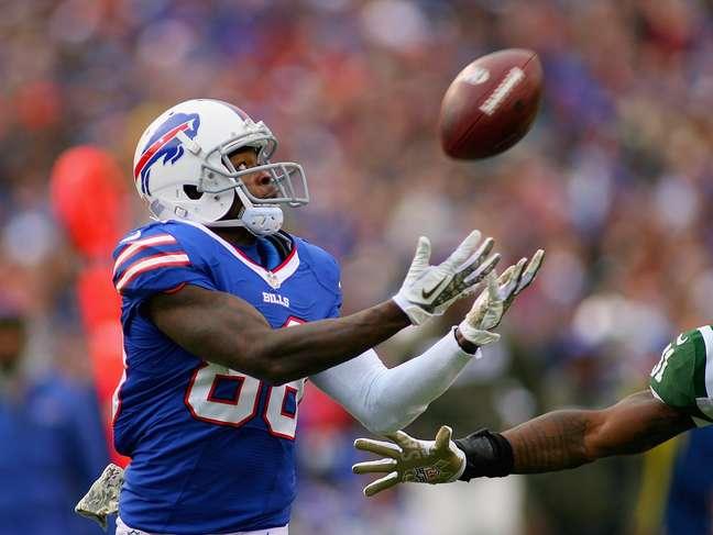 Marquise Goodwin compete na NFL pelo Buffalo Bills