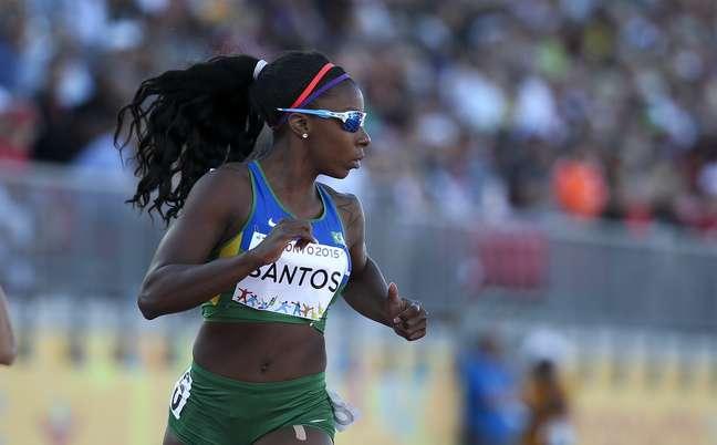 Rosângela Santos ficou na quarta posição e chorou copiosamente depois da prova