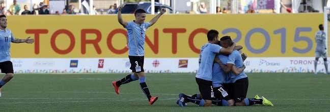 Uruguaios provocaram após vitória de virada