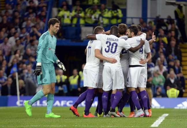 Fiorentina surpreendeu Chelsea em Londres