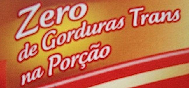 Essa gordura está presente em algumas margarinas, sorvetes, chocolates, biscoitos, bolachas, biscoitos e bolinhos recheados industrializados