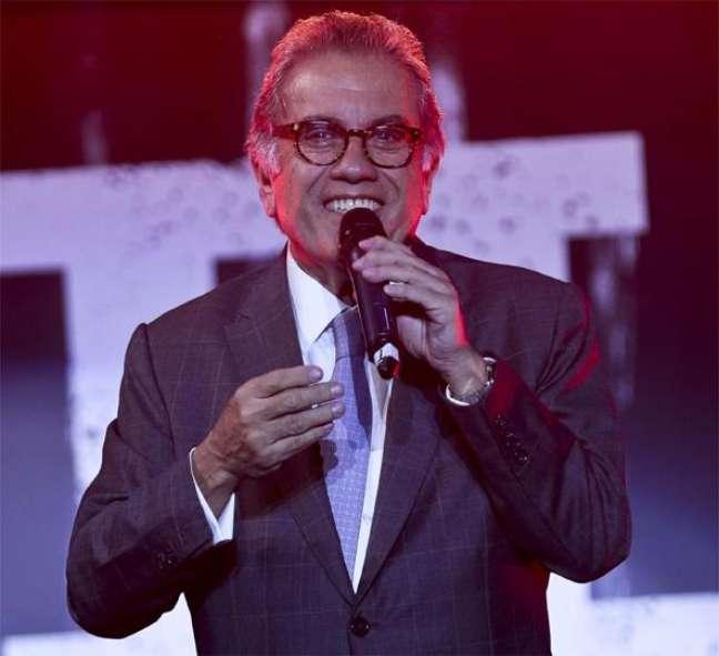 Carlos Miguel Aidar no evento no Morumbi