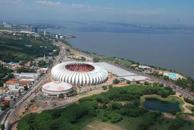 Estádio Beira-Rio, em Porto Alegre