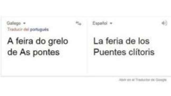 Erro de tradução repercutiu em pequena cidade da Espanha