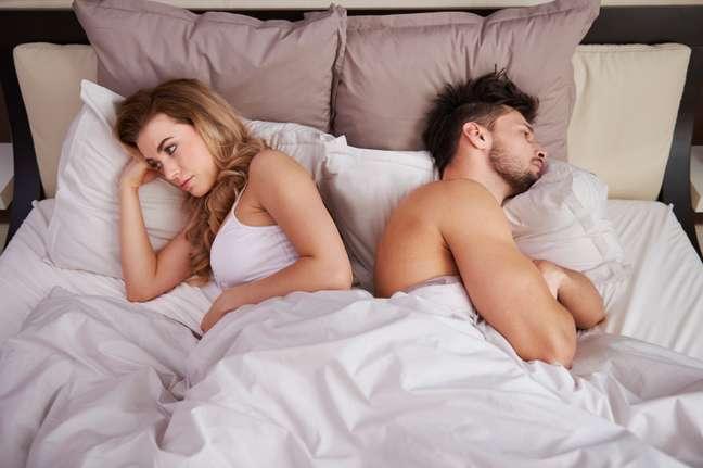Problemas de saúde podem diminuir a vontade de fazer sexo. Fotos: iStock, Getty Images