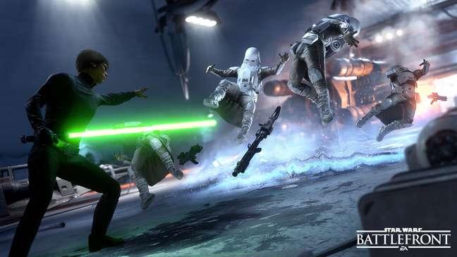 Star Wars não é um sucesso apenas nos cinemas, como prova o novo Battlefront