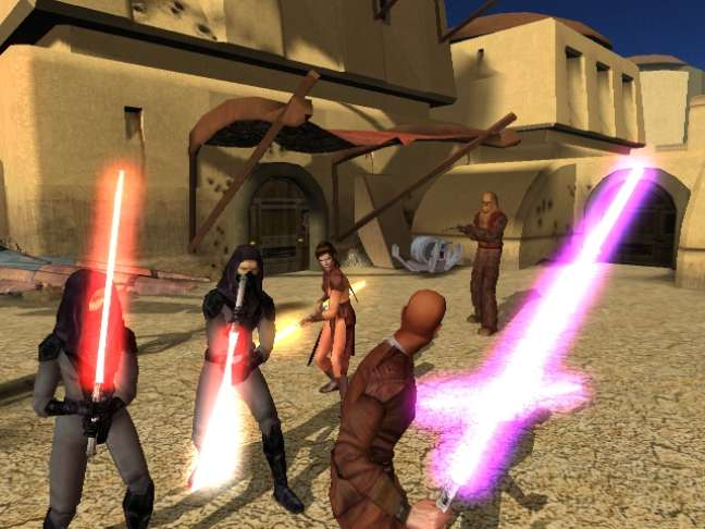 A história do jogo se passa 4.000 anos antes da ascensão do Império Galáctico