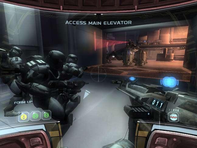 O jogo coloca você no comando de um esquadrão de elite da República
