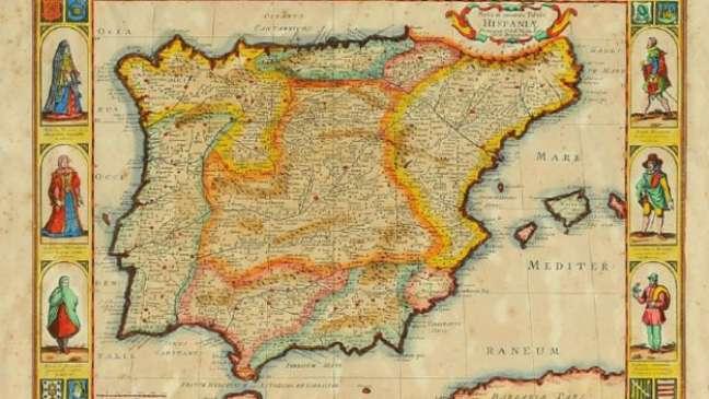 Lei beneficia herdeiros dos judeus expulsos da Península Ibérica (mapa acima) no século 15