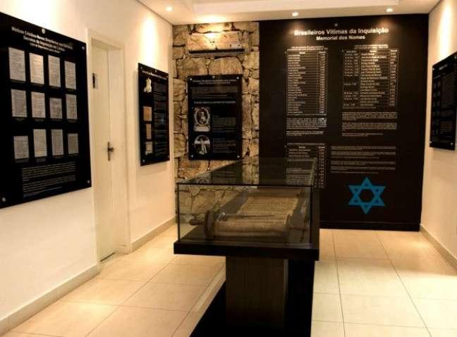 Uma seção do Museu da História da Inquisição, em Belo Horizonte, é dedicada às vítimas brasileiras da intolerância religiosa