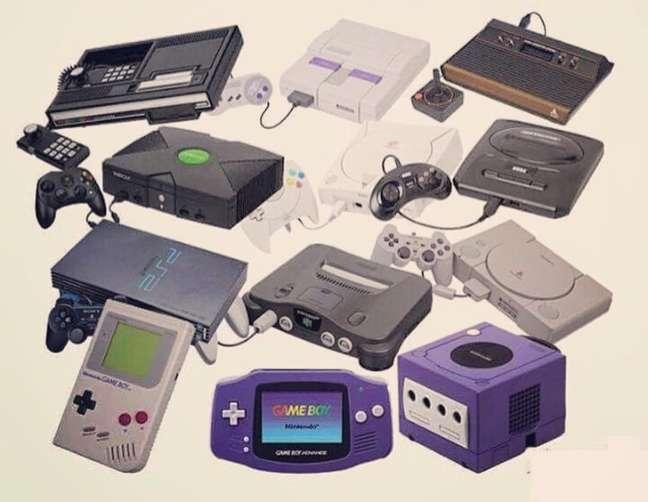 Com início em 1967, os consoles evoluíram muito com o passar dos anos