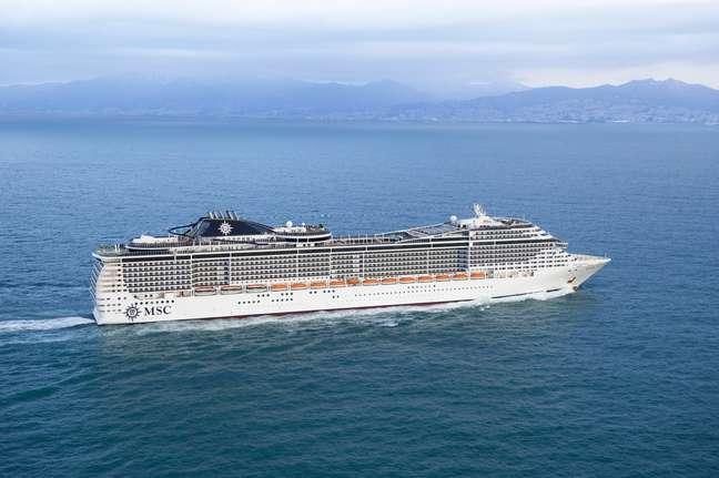 MSC Preziosa deve ser o maior e mais moderno navio no Brasil durante a próxima temporada