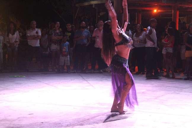 Na Ilha dos Aquários, há apresentações de dança, música e espaços temáticos para gostos variados: forró pé de serra, MPB, axé e outros ritmos