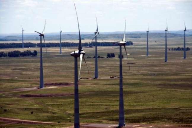 Investimentos na matriz eólica contribuem para a geração de energia limpa ()