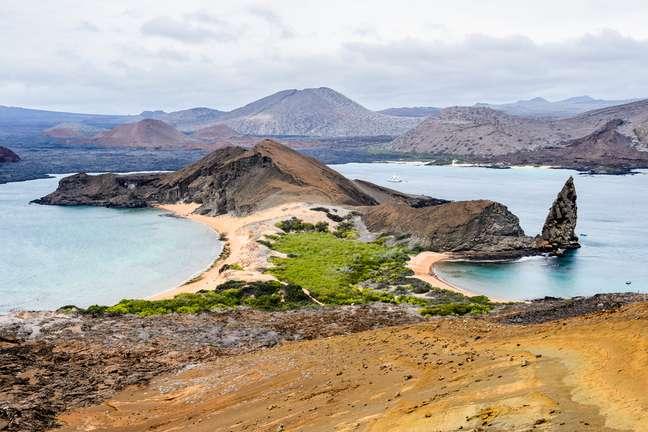 Galápagos é repleta de belas paisagens