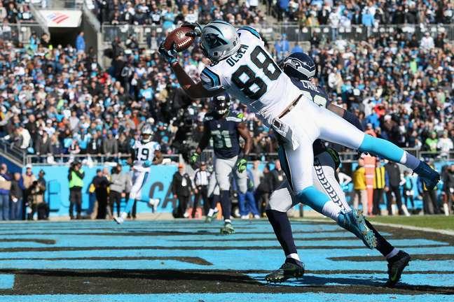 Panthers abriram 31 pontos de vantagem em cima do Seattle Seahawks nos playoffs