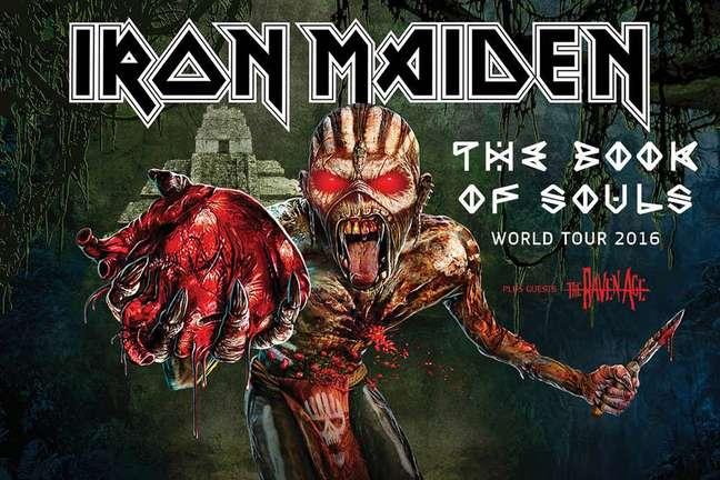 Os fãs de Iron Maiden, banda que atravessa gerações, já podem comemorar: os caras virão ao Brasil no fim de março com a turnê The Book Of Souls World Tour