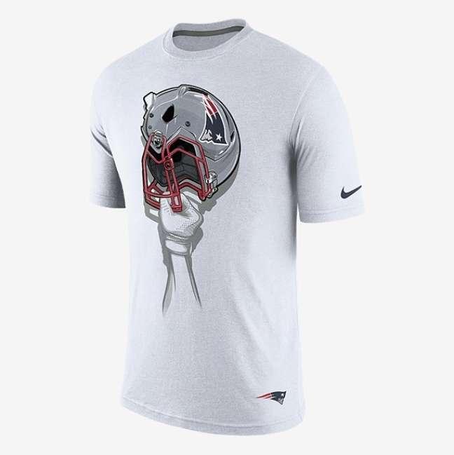 No site da Nike, camisas dos times da NFL não saem por menos de R$ 200,00