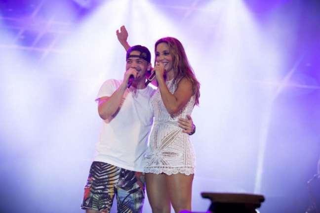 Fã confesso de Ivete Sangalo, Safadão gravou um clipe com a cantora no final do ano passado. A canção Parece que o Vento é uma faixa bônus do DVD do cantor