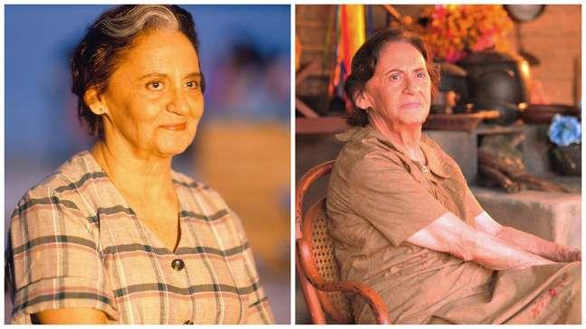 Laura Cardoso deu vida a mãe das gêmeas Ruth e Raquel