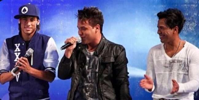 Neymar estreou em clipes musicais com o hit Eu Quero Tchu, Eu Quero Tcha