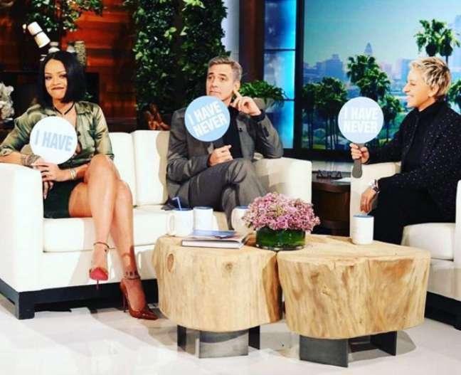 No programa televisivo americano, Ellen DeGeneres Show, afirmou que em seu camarim precisa ter muitas opções, pois não sabe qual será seu humor
