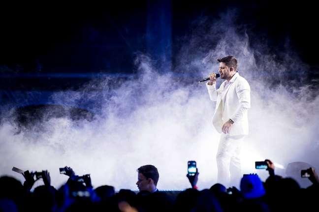 """O cantor, que imortalizou a frase """"o que temos para hoje é saudade"""", agora é lembrado por outra pelos fãs: """"O que temos para sempre é saudade"""""""
