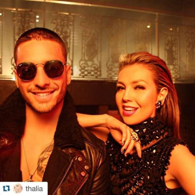Cantou com Lucas Lucco e, recentemente, gravou com Thalía o clipe Desde esa Noche, que faz parte do álbum Latina, que será lançado em meados de abril