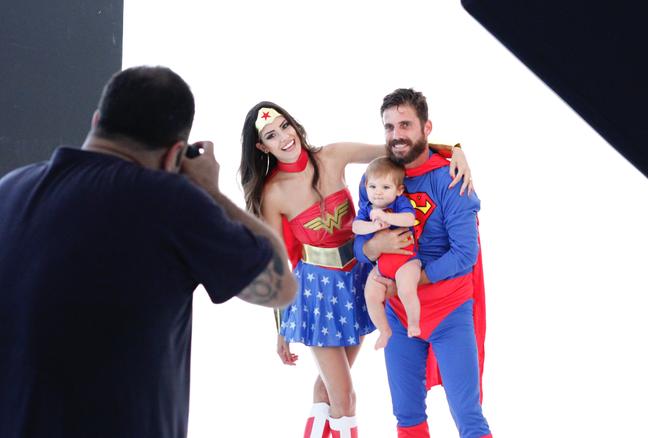 Davi mostrou que nasceu para brilhar em ensaio fotográfico realizado neste mês