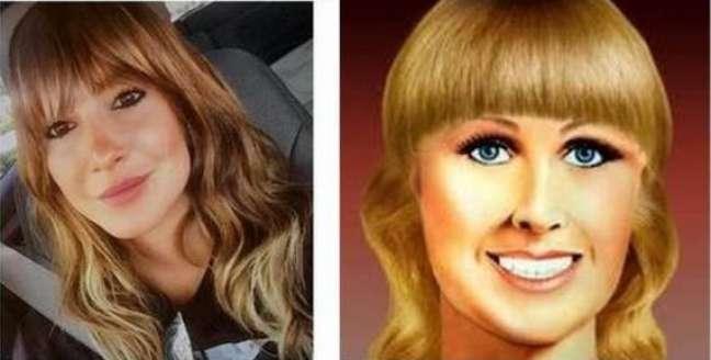 A jurada do The Voice Brasil, programa exibido pela TV Globo, foi comparada com a personagem que representa uma marca de palitos de dente ao aparecer com franja